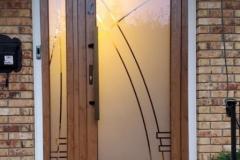 Custom-Sandblasted-Door-with-Sidelite